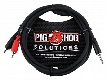 Pig Hog PB-S3R03 (3ft 1/8in to Dual RCA)