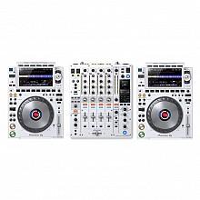 Pioneer DJ CDJ-3000-W & DJM-900NXS2-W | Limited Edition White Bundle