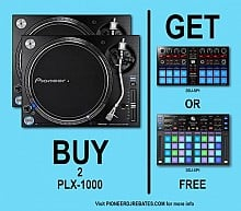 Pioneer PLX-1000 Pair | Rebate Offer