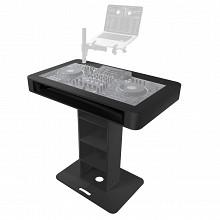 ProX Control Tower DJ Booth w/ Flight Cases XZF-DJCT-BL