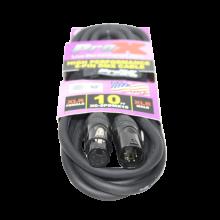 ProX XC-5PDMX10 (10 Ft. DMX XLR5-M to XLR5-F High Performance Cable)