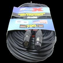 ProX XC-5PDMX100 (100 Ft. DMX XLR5-M to XLR5-F High Performance Cable)