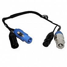 ProX XC-PWC14-DMX05 (5ft DMX + PowerCon Combo Cable)