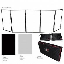 ProX XF-5X3048B (Black Frame) 5-Panel Facade