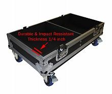 ProX XS-2X12SPW - Dual 12in Speaker Flight Case