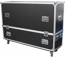 ProX XS-LCD5565WX2 Dual Flat Screen Flight Case 55-65in