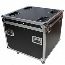 ProX XS-UTL6 Heavy Duty Touring Case Utility Trunk with Caster Dish & Wheels