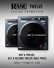 Rane TWELVE Promo | Buy One TWELVE Get one TWELVE at Half Off
