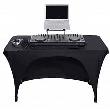 Scrim King TBL401-B | 4ft DJ Table Scrim (Black)