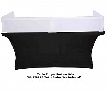 Scrim-King SS-TTP401-W 4ft Table Topper