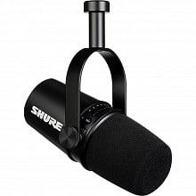 Shure MV7-K Podcast Microphone