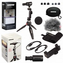 Shure MV88+SE215 Portable Videography Kit