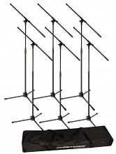 Ultimate Support JS-MCFB6PK Boom Mic Stands