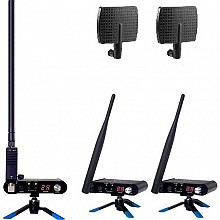 Wi Digital Wi Pro AudioMatrix X8 + (2) Long Range Paddle Antennas