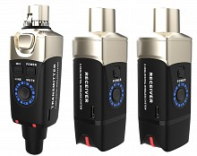 XVive U3DR - Wireless XLR Package, 1x Transmitter, 2x Receiver